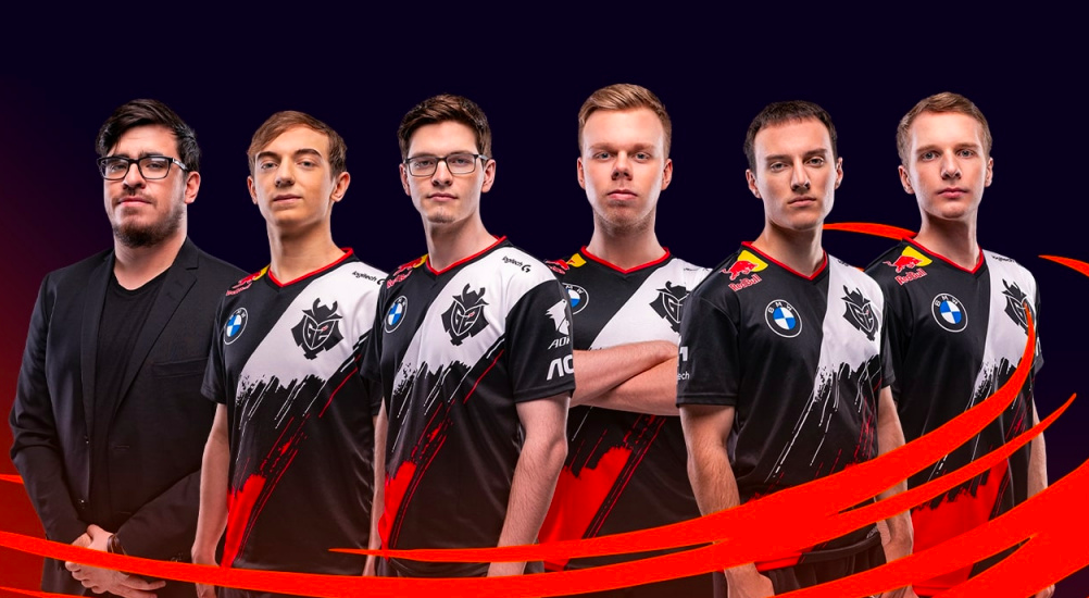 G2 competing in League of Legends